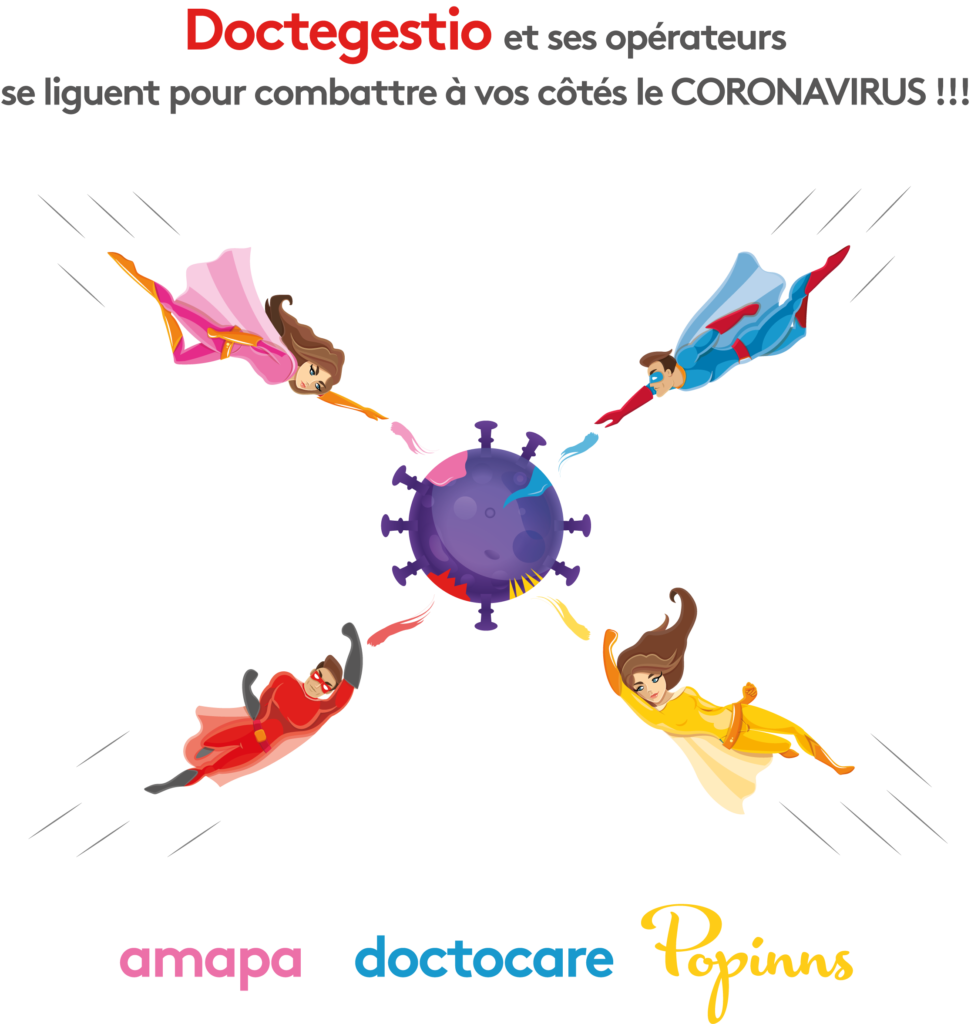 doctegestio operateurs coronavirus